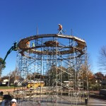 Concrete tank construction in Sellersburg, IN