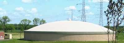 circular concrete dome roof