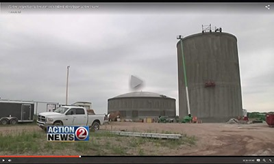 3.75 MG and 8.0 MG tanks in Ledgeview. Tallest in nation