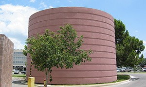 concrete thermal energy storage tank over 30 years in service