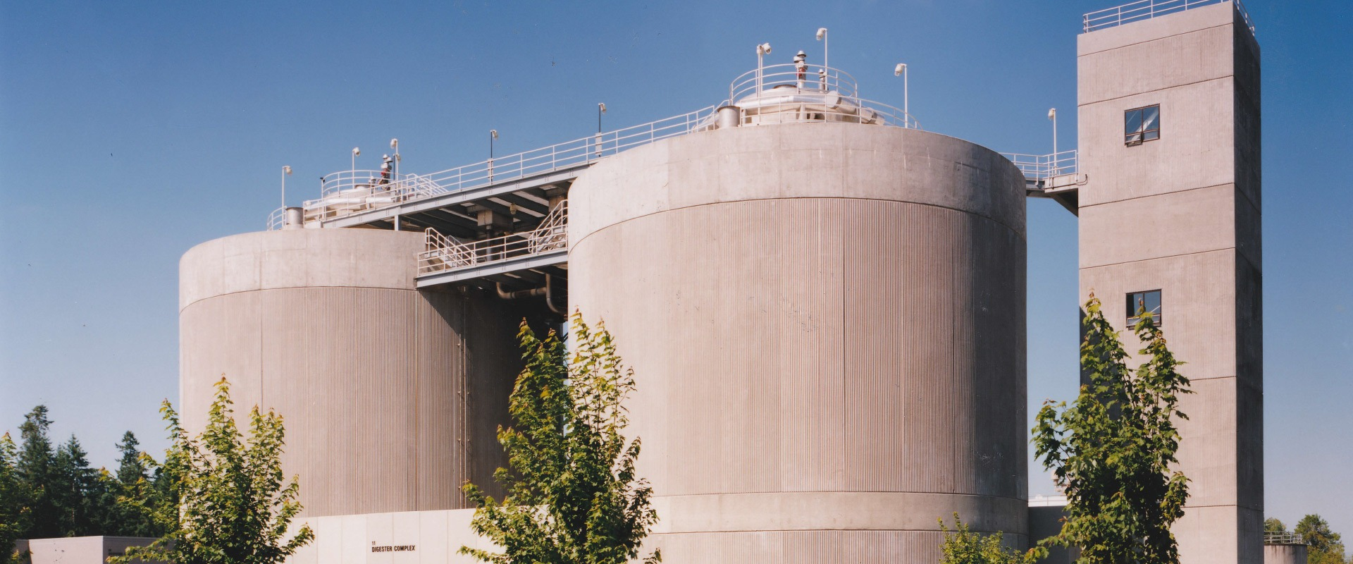 concrete digesters in Hillsboro, OR