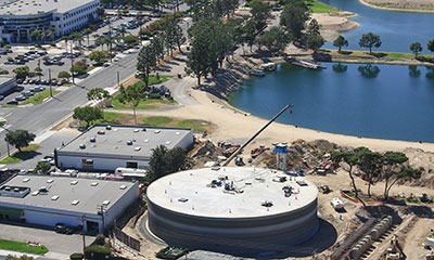 4.0 MG water storage reservoir for the City of Anaheim, CA