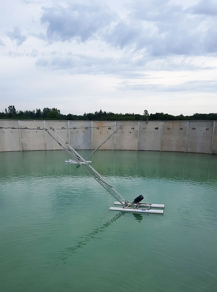 Kasson, MN 4.3 MG open-top tank at a wastewater treatment plant