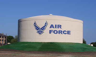 thermal energy storage tank at Lackland Air Force Base award for energy efficiency